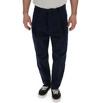 Dsquared2 Blue Cotton Pants