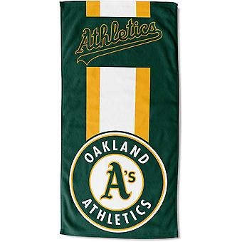 Northwest MLB Strandtuch ZONE Oakland Athletics 76x152cm