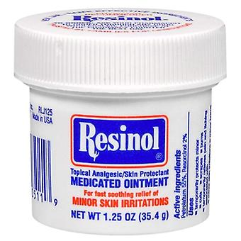 Resinol medicated ointment, topical analgesic, 1.25 oz
