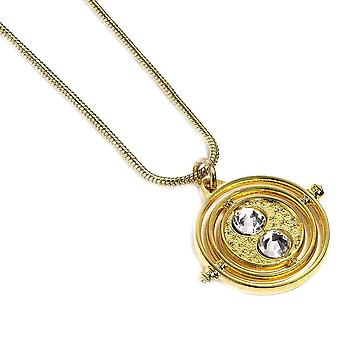 Harry Potter Gold Plated Fixed Time Tuner 20mm Necklace