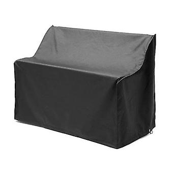 Gardenista® Black Protective Cover for 2 Seater Bench