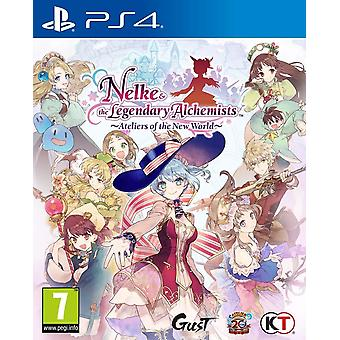 Nelke & the Legendary Alchemists Ateliers of the New World PS4 Game