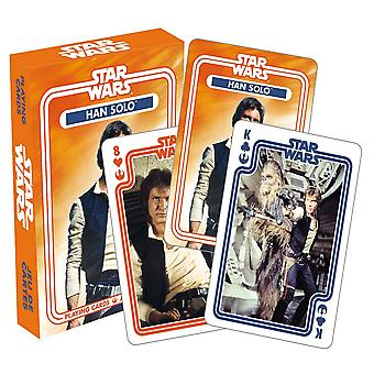 Star Wars Han Solo Playing Cards