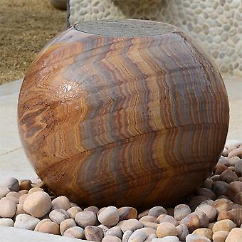 Foras Bliss Stone Ball Water Feature