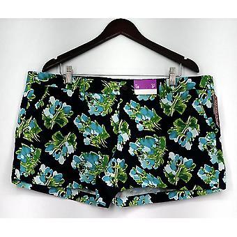 Merona Shorts Fly Zipper Closure Floral Print Navy Blue Womens Merona Shorts Fly Zipper Closure Floral Print Navy Blue Womens Merona Shorts Fly Zipper Closure Floral Print Navy Blue Womens Meron