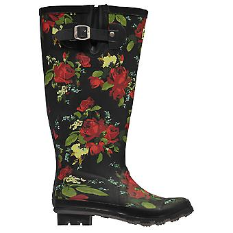 Kangol Womens Wellingtons Tall Welly Ladies Shoes