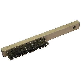 Wolfcraft Fine brush scraper in brass