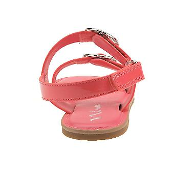 Nina Kids Brunny Girls' Toddler-Youth Sandal 3 M US Little Kid Coral-Patent