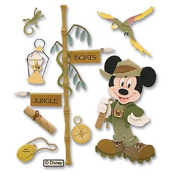 Disney Vacation Dimensional Sticker Jungle Mickey Djbvs 07