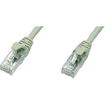 RJ49 Networks Cable CAT 5e U/UTP 5 m Grey Flame-retardant Telegärtner