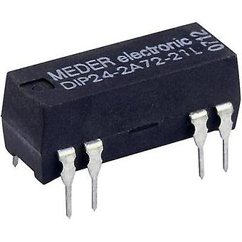 Reed relay 2 makers 5 Vdc 0.5 A 10 W DIP 8 StandexMeder Electronics