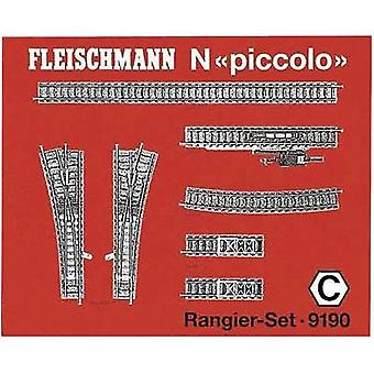N Fleischmann piccolo (incl. track bed) 9190 Expansion set