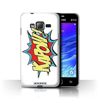 STUFF4 Case/Cover for Samsung Z1/Z130/Kapow!/Comics/Cartoon Words