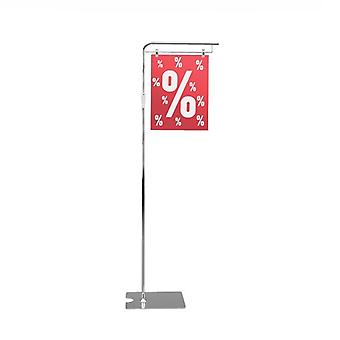 Pallet POS Sign Display Stand - Adjustable Height