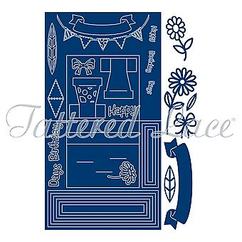 Essentials by Tattered Lace Stage Card Die