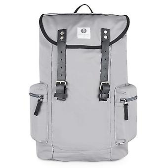 Ridgebake backpack LIAM ASH & BLACK LEATHER grey canvas men's women's children