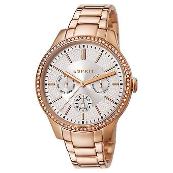 ESPRIT ladies watch bracelet watch Alice stainless steel Rosé ES107132005