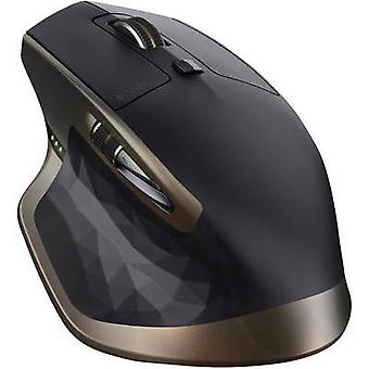 Bluetooth mouse Laser Logitech MX Master Built-in scroll wheel, Rechargeable Black