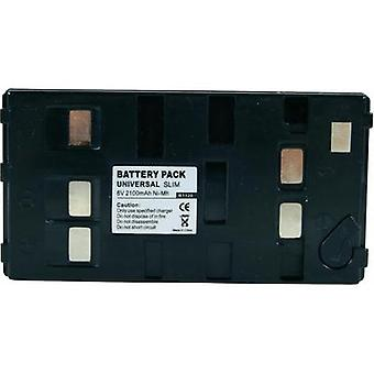 Camera battery Conrad energy replaces original battery Uni-Pan 6 V 1800 mAh