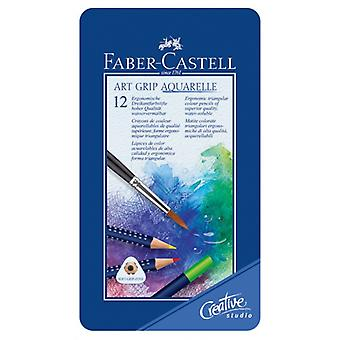 Aquarelle art Grip pen F-C 12/bte