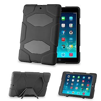 Defender Hard Shock Proof Triple Case Cover For Apple iPad Mini - Black