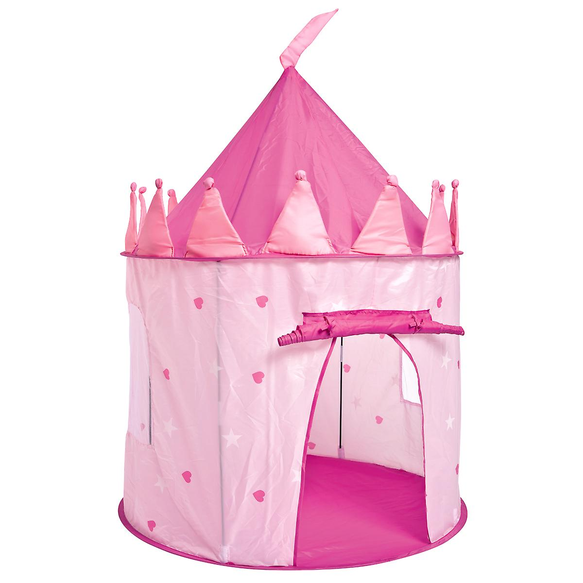 Children's Round Play Tent Indoor Outdoor - Princess and Knight Castle Available
