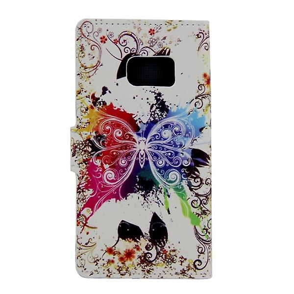 Cover wallet pattern 13 for Samsung Galaxy S6 edge G925 G925F