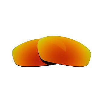 New SEEK Replacement Lenses for Oakley WIND JACKET Clear Yellow Mirror