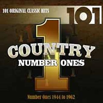 101 Country Number Ones by Various Artists