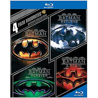 4 Film-Favoriten: Batman [BLU-RAY] USA Import