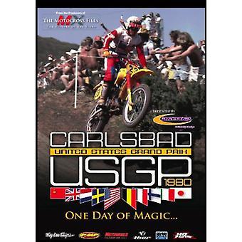 Importación de Estados Unidos Estados Unidos Carlsbad Grand Prix 1980 Usgp [DVD]