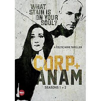 Corp + Anam: Seasons 1 & 2 [DVD] USA importerer