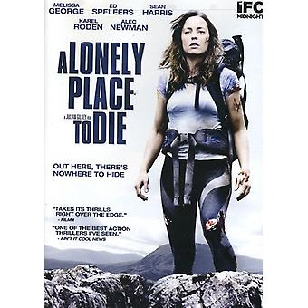 A Lonely Place to Die [DVD] USA import
