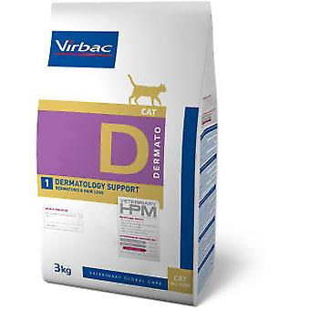 Virbac Veterinary HPM D1 Dermatology Support (Cats , Cat Food , Dry Food)