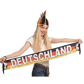 Sciarpa calcio 120cm EM Germania mondiali calcio party