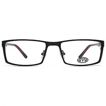 Animal Evans Combination Rectangle Glasses In Black