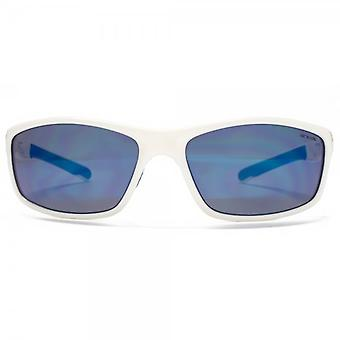Animal Chased TR90 Wrap Sunglasses In White Polarised