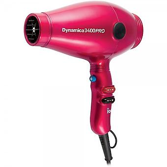 Diva Professional Styling Diva Chromatix Dynamica 3400 PRO Rubberised Hairdryer Raspberry