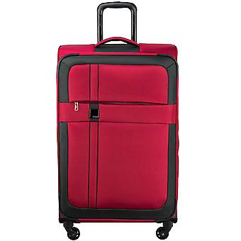 Titanium space 4-roller soft luggage 4 wheel trolley suitcase luggage L 76 cm
