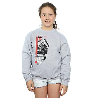 Star Wars Girls The Last Jedi Captain Phasma Sweatshirt