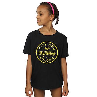 City and Colour Girls Feather Eye T-Shirt