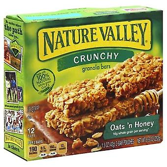 Nature Valley knusprige Hafer 'N Honig Müsliriegel