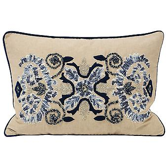 Riva Home Anika Patterned Rectangular Cushion Cover