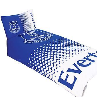 Everton FC Official Reversible Fade Duvet Cover Bedding Set