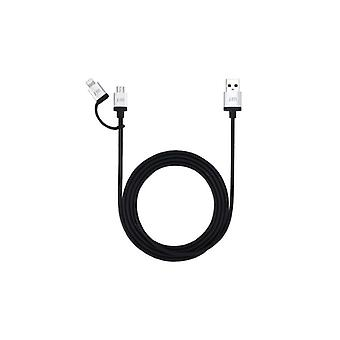 Just Mobile Alucable Duo 1.5 Metres
