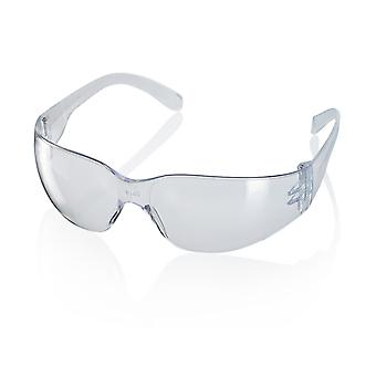 Click Ancona Safety Spectacles Clear / Grey / Yellow (Pack Of 10) - Ctas