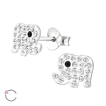 Elephant crystal from Swarovski® - 925 Sterling Silver Children's Jewellery