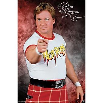 WWE - larmende Roddy Piper plakat plakat Print