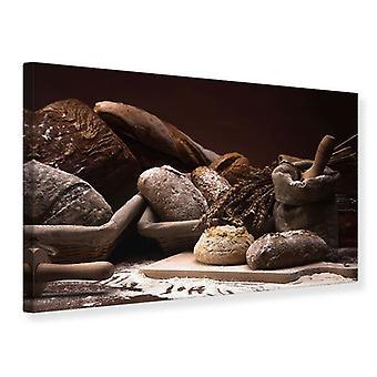 Canvas Print Bread Bakery