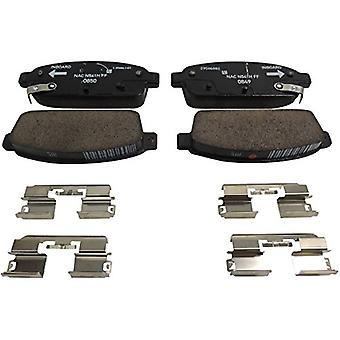 ACDelco 171-1121 GM Original Equipment Rear Disc Brake Pad Kit with Brake Pads and Clips